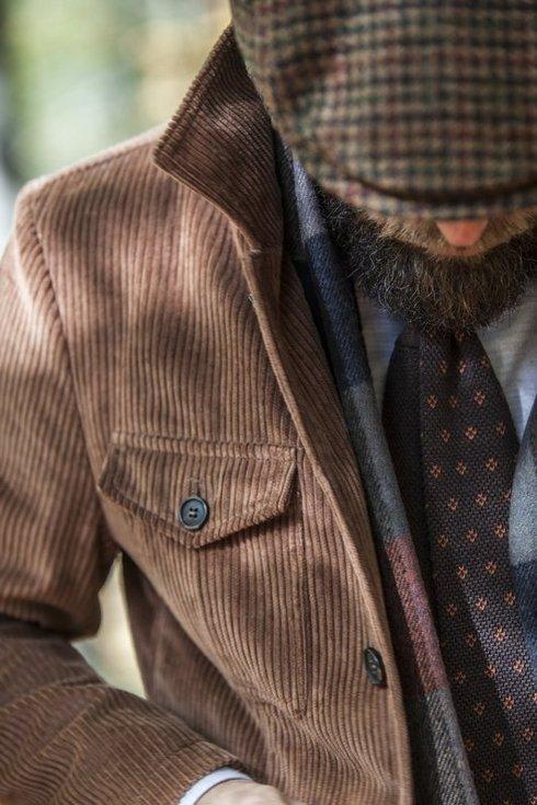 "Safari jacket sztruks ""Artur II"""