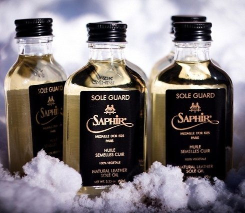 Sole Guard - olej do podeszw 100 ml SAPHIR Medaille d'Or